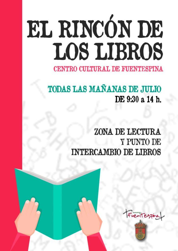 el rincón de los libros de Fuentespina