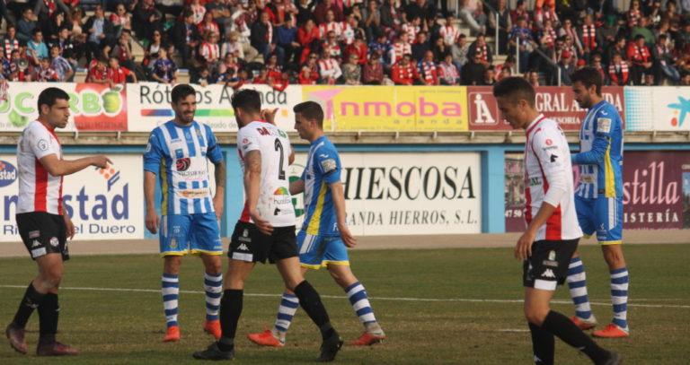 Arandina CF vs Burgos CF