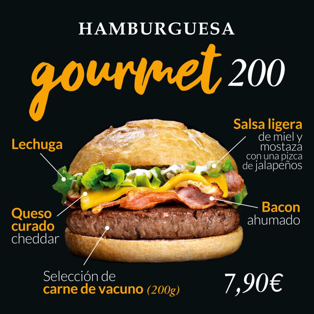 Hamburguesa gourmet La Parrilla