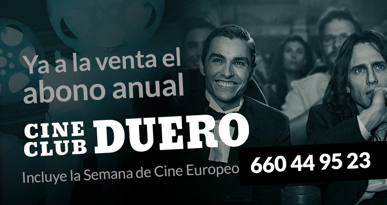Cineclub abono temporada 2019 Aranda de Duero