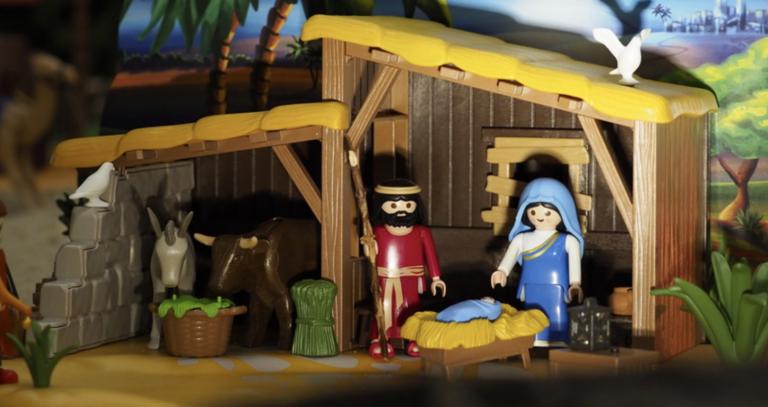 Exposición Belén de Playmobil