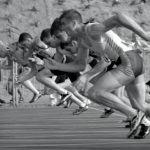 Finales Olímpicas 100m lisos